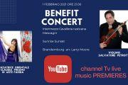 1 Febbraio 2021 - YouTube  Premiere del Benefit Concert direzione musicale Salvatore Petrotto