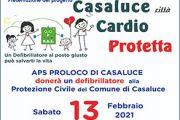 13 Febbraio 2021 - PROGETTO: CASALUCE CITTÀ CARDIO-PROTETTA - Casaluce (CE)