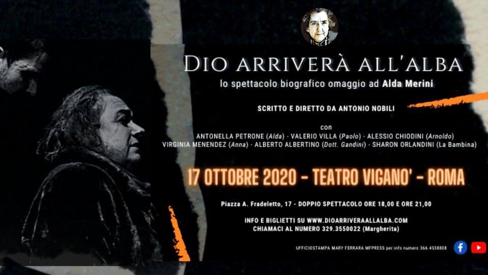 17 Ottobre 2020 - Dio arriverà all'alba - Roma