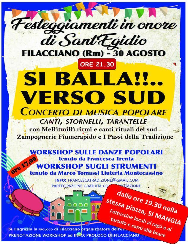 Calendario Pizzica.30 Agosto 2019 Francesca Trenta In Concert Si Balla