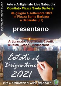 Estate al Brigantino 2021 - Sabaudia (LT) da Giugno a Settembre